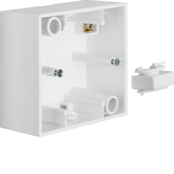 10411909 Surface-mounted housing 1gang Berker B.3, polar white matt
