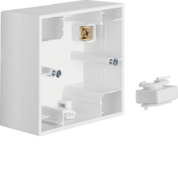 10417009 Surface-mounted housing 1gang Berker K.1, polar white glossy