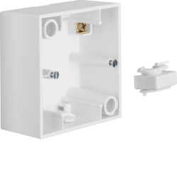10419909 Surface-mounted housing 1gang Berker S.1, polar white matt