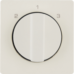 10846082 Centre plate with rotary knob for 3-step switch