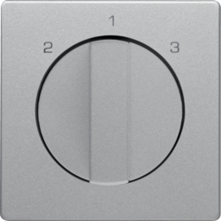 10846084 Centre plate with rotary knob for 3-step switch