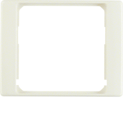 11080002 Intermediate ring for central plate Berker Arsys,  white glossy