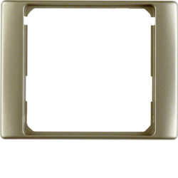 11089011 Intermediate ring for central plate Berker Arsys,  light bronze matt,  lacquered