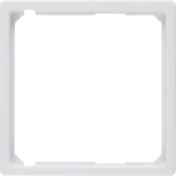 11096089 Intermediate ring for central plate Berker Q.1/Q.3/Q.7/Q.9, polar white velvety