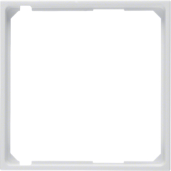 11098989 Intermediate ring for central plate Berker S.1/B.3/B.7, polar white glossy