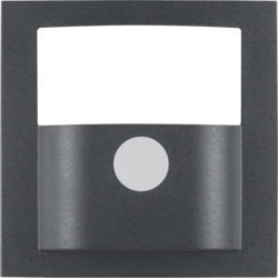 11901606 Cover for motion detector 1.1m Berker S.1/B.3/B.7, anthracite,  matt