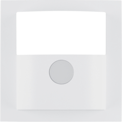 11901909 Cover for motion detector 1.1m Berker S.1/B.3/B.7, polar white matt