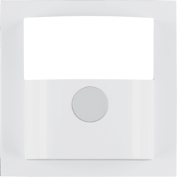 11908989 Cover for motion detector 1.1m Berker S.1/B.3/B.7, polar white glossy