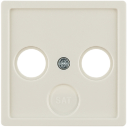 12036082 Centre plate for aerial socket 2-/3hole