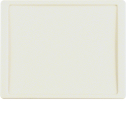 12040012 Centre plate for nurse call system Berker Arsys,  white glossy