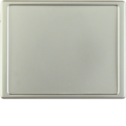 12049004 Centre plate for nurse call system Berker Arsys,  stainless steel matt,  lacquered