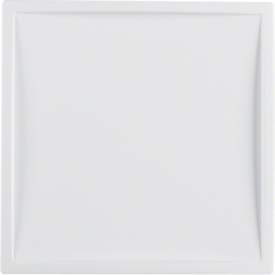 12049909 Centre plate for nurse call system Berker S.1/B.3/B.7, polar white matt