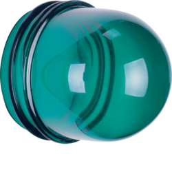 1232 Cover,  high,  for pilot lamp E14 Accessories,  green,  transparent