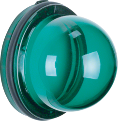 124103 Cover for pilot lamp E14 Iso-Panzer IP66, green,  transparent