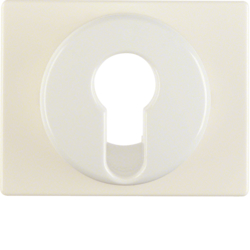 15050012 Centre plate for key switch/key push-button Berker Arsys,  white glossy