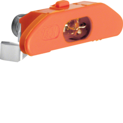 160514 Neon lamp unit with N terminal Light control,  orange