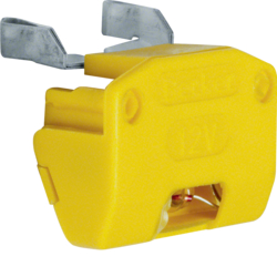1617 Incandescent lamp unit for switches/push-buttons Isopanzer IP44, yellow