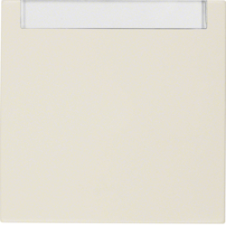 16268982 Rocker with labelling field,  Berker S.1, white glossy
