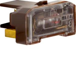 1676 Glow lamp unit with N-terminal Light control,  brown