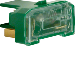 167601 Glow lamp unit with N-terminal Light control,  green