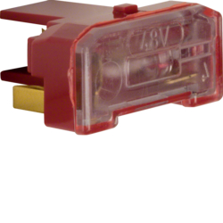 167603 Glow lamp unit with N-terminal red