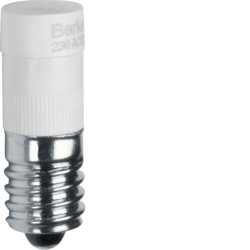 1678 LED lamp E10 Accessories,  white