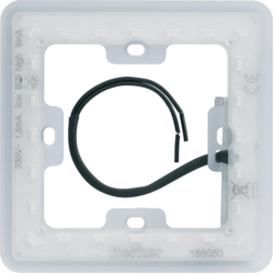 168050 LED module for Corona lighting Berker Q.7, transparent