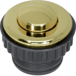 181112 Push-button,  NO contact Berker TS,  gold glossy,  24-carat galvanised