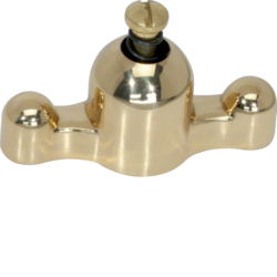 1812 Brass toggle Serie 1930/Glas,  brass,  clear varnished