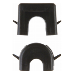 181305 Wire and duct entry Surface-mounted,  black