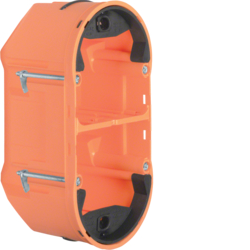 1870 Wall box 2gang Berker TS Sensor,  orange matt