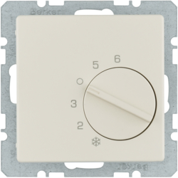 20266082 Thermostat,  change-over contact,  with centre plate