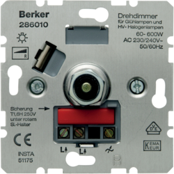 286010 Rotary dimmer 600 W Light control,  others