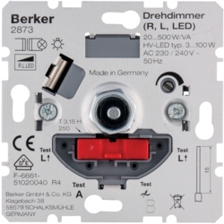 2873 Rotary dimmer (R,  L,  LED) with soft-lock,  Light control,  others