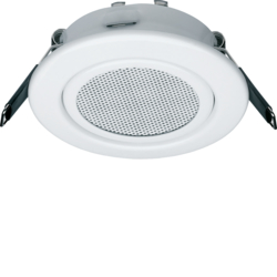 28850000 Ceiling loudspeaker Ø 80 mm Communication technology,  white