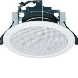 28850001 Ceiling loudspeaker Ø 140 mm Communication technology,  white