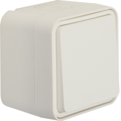 30773502 Intermediate switch surface-mounted Berker W.1, polar white matt