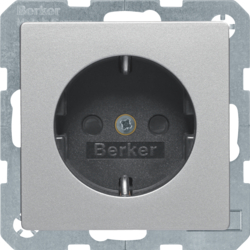 41236084 with enhanced touch protection,  Screw-in lift terminals,  Berker Q.1/Q.3