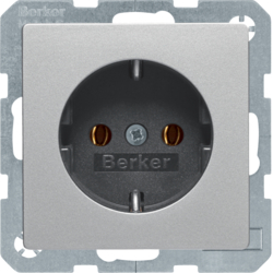 47436084 SCHUKO socket outlet Berker Q.1/Q.3