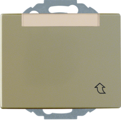 47580001 SCHUKO socket outlet with hinged cover Labelling field,  enhanced contact protection,  Mounting orientation variable in 45° steps,  Berker Arsys,  light bronze matt,  aluminium lacquered