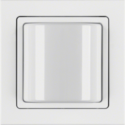 52036099 Light signal with frame Berker Q.3, polar white velvety