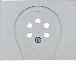 "6710257003 Centre plate for RTT socket outlet ""Belgium"" Berker K.5"