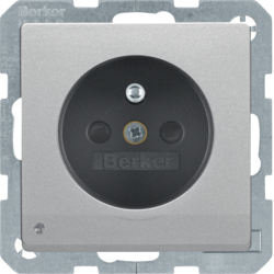 6765106084 enhanced contact protection,  Screw-in lift terminals,  Berker Q.1/Q.3