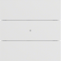 75163599 B.IQ push-button 3gang comfort KNX - Berker B.IQ,  polar white matt