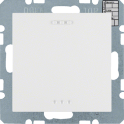 75441389 KNX CO² sensor with humidity and temperature regulation with integral bus coupling unit,  KNX - Berker S.1/B.3/B.7