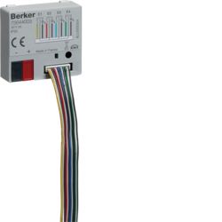 75644003 Universal interface 4gang with 4 LED outputs,  flush-mounted with integral bus coupling unit,  KNX