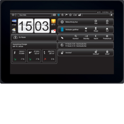 "75740110 Touch Panel 10"" Android KNX,  anthracite"