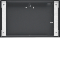 "75900207 Flush-mounted housing for 7"" Touch Panel,  flush-to-wall KNX,  anthracite,  lacquered"