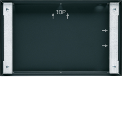 "75900210 Flush-mounted housing for 10"" Touch Panel,  flush-to-wall KNX,  anthracite,  lacquered"