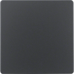 75940485 Central plate for sensor insert KNX,  anthracite,  matt